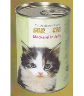 Sumo Cat Mackerel in Jelly 400g