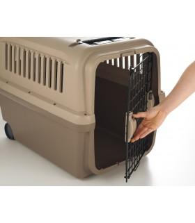 Richell Dog Cargo Carrier Brown L