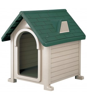 Richell Pet House Dark Green S DX-490