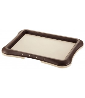 Richell Regular Pee Tray Dark Brown