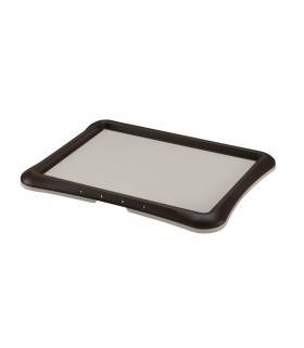 Richell Wide Plus Pee Tray Brown