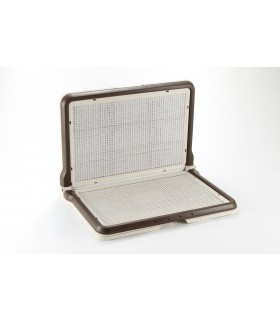 Richell L-Shape Regular Brown Pee Tray