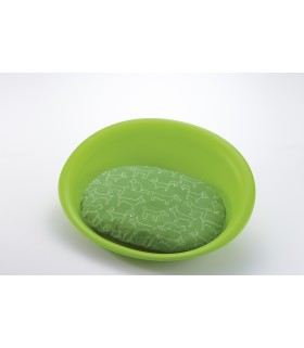 Richell Green Oval Pet Bed S