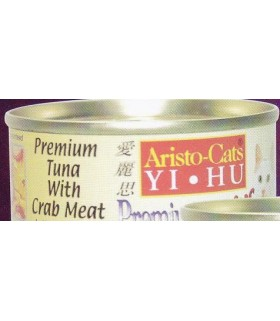 Aristo-Cats Tuna with Crab Meat 80g