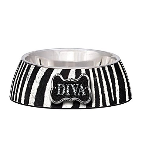 Milano Stainless Steel Ring.Loving Pets Milano Bowls
