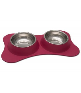 Loving Pets Dolce Flex Diners - Pomegranate
