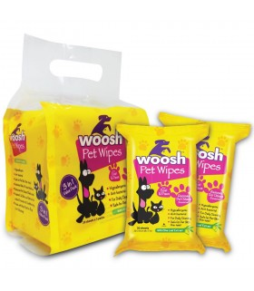 Woosh Pet Wipes 60pcs