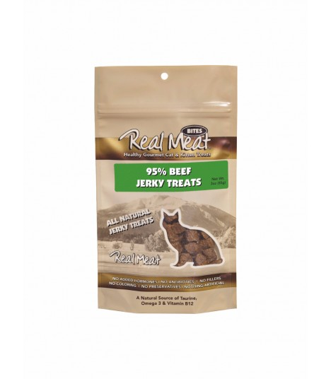Real Meat Beef Jerky for Cat 3oz
