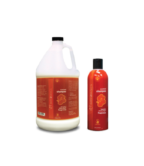 Bark 2 Basics Hawaiian White Ginger Shampoo