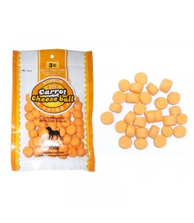 Bow Wow Carrot Cheese Ball 100g