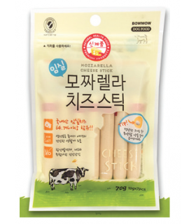 Bow Wow Mozzarella Cheese Stick 70g