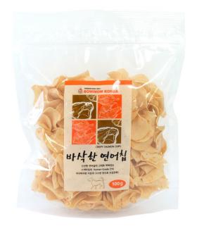 Bow Wow Crispy Salmon Chips 100g