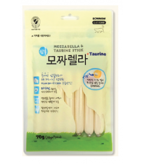 Bow Wow Mozzarella & Taurine Stick 70g