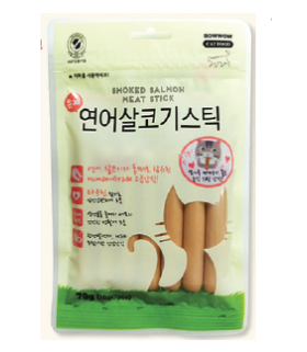 Bow Wow Smoked Salmon Stick 70g
