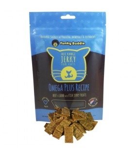 Funky Buddie Omega Plus Jerky for Cat 4oz