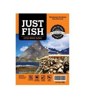 Just Fish Cod Ring Sushi 100g
