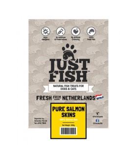 Just Fish Salmon Skin Curls 250g