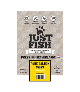 Just Fish Cod Skin Canes 100g