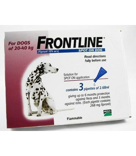 Frontline Spot On for Dogs up to 20-40 kg