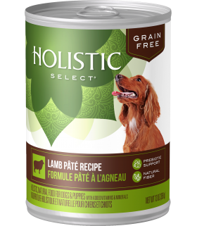 Holistic Select Grain Free Dog Lamb Pate