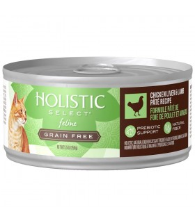 Holistic Select Grain Free Chicken Liver & Lamb Pate 5.5oz