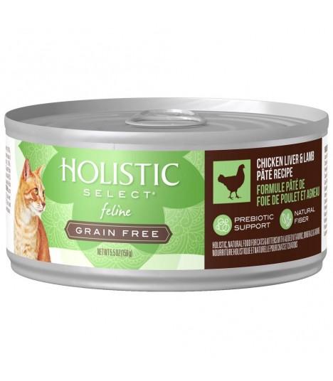 Holistic Select Grain Free Chicken Liver & Lamb Pate 5.5oz