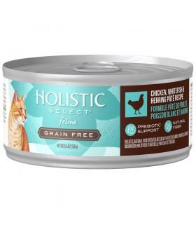 Holistic Select Grain Free Chicken, Whitefish & Herring Pate 5.5oz