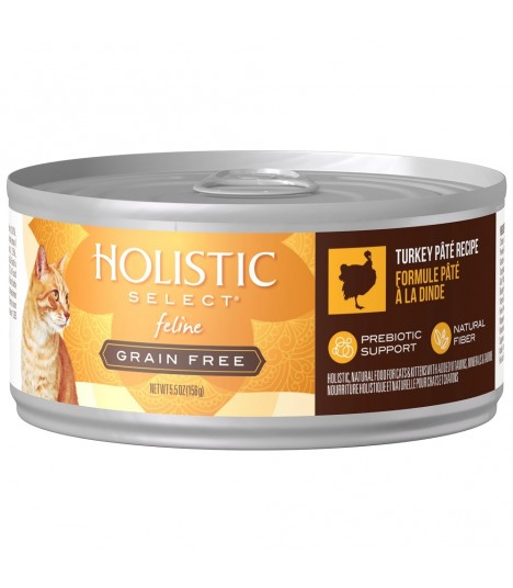 Holistic Select Grain Free Turkey Pate 5.5oz