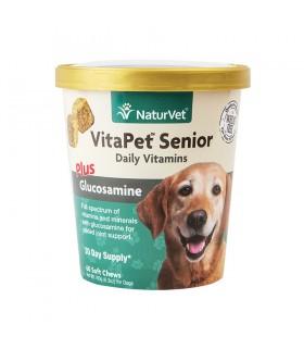 NaturVet VitaPet Senior Plus Glucosamine