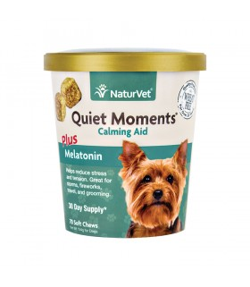 NaturVet Quiet Moments Dog Plus Melatonin