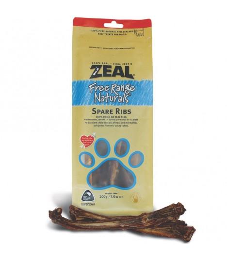 Zeal Free Range Spare Ribs 200g