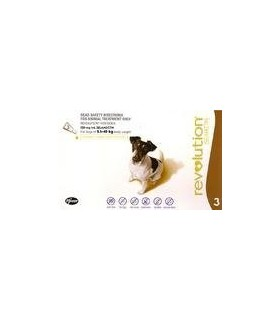 Revolution Small Dogs 5.1kg - 10kg (3 tubes)