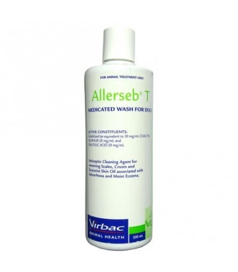 Virbac Allerseb T-Medicated Shampoo 500ml