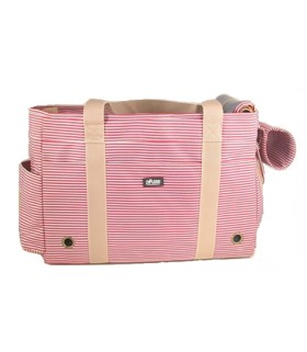 Pet Care BG-140RD Stripe Pet Carrier