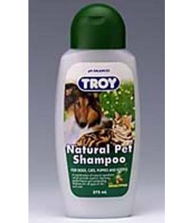 Troy Natural Pet Shampoo 375ml