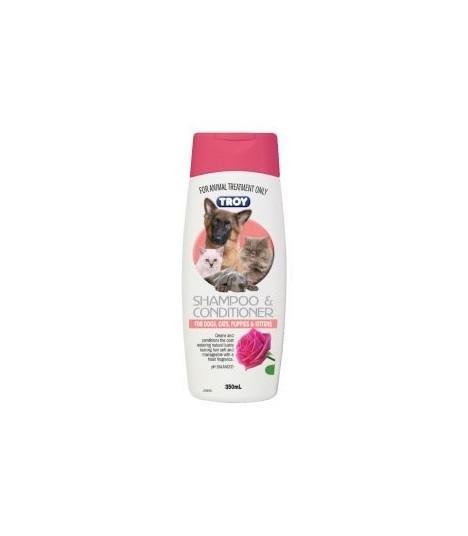 Troy Shampoo & Conditioner 350ml