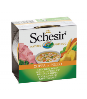Schesir Chicken Soup for Dog 156g x 20