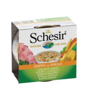 Schesir Chicken Soup for Dog 156g