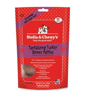 Stella & Chewy's Tantalizing Turkey Dinner Patties 15oz