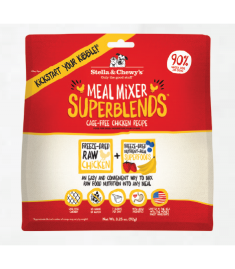 Stella & Chewy's Superblends Cage Free Chicken Meal Mixer 16oz