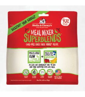 Stella & Chewy's Superblends Cage Free Duck Goose Meal Mixer 16oz