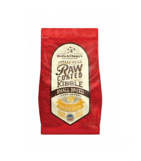 Stella & Chewy's Raw Coated Chicken Kibble for Small Breed 3.5lb