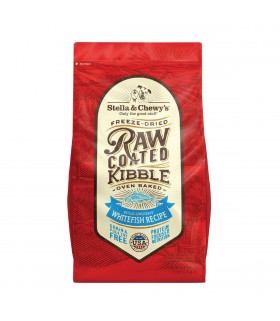 Stella & Chewy's Raw Coated Whitefish Kibble