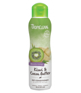 Tropiclean Kiwi & Cocoa Butter Conditioner 12oz