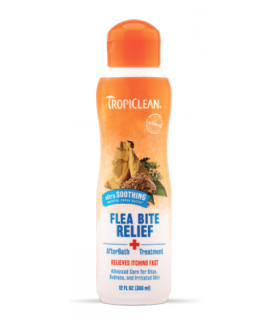 Tropiclean Natural Flea & Tick Bite Relief After Bath Treatment 12oz