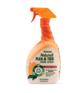 Tropiclean Natural Flea & Tick Spray for Home 32ozTropiclean Natural Flea & Tick Spray for Home 32oz