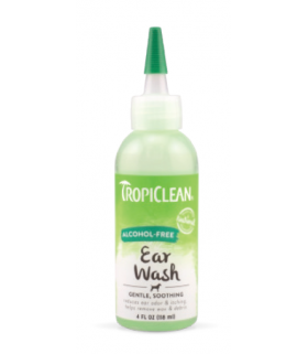 Tropiclean Alcohol-Free Ear Wash 4oz