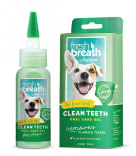Tropiclean Clean Teeth Gel 2oz & 4oz