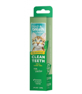 Tropiclean Clean Teeth Gel for Cats 2oz