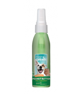 Tropiclean Oral Care Peanut Butter Spray 4oz